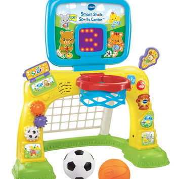 VTech Smart Shots - 2-in-1 kids basketball hoop Sports Center Toddler Toy