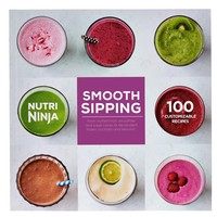 Nutri Ninja Smooth Sipping 100 Recipe Cook Book for Personal Blender CB492W