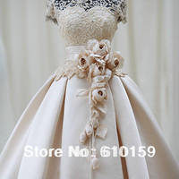 Wedding dress princess chinese style stand collar aesthetic qi in wedding quality