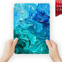 ipad case leather smart cover pigment dye colour for ipad mini ipad air 1 2 3 retina display splash-01design01