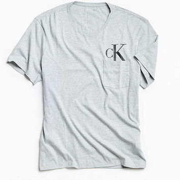 Calvin Klein Hidden Icon Logo Pocket Tee | Urban Outfitters