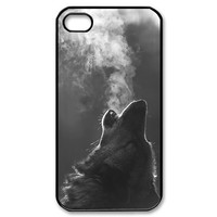 Custombox Wolf Iphone 4/4s Case Plastic Hard Phone Case for Iphone 4/4s-iPhone 4-DF02607