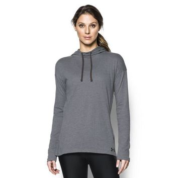 Under Armour Women's Ua Charged Cotton Stadium Hoodie 1276522 041