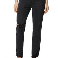 J Brand Johnny Straight Leg Jeans (Swathe Destruct) | Nordstrom