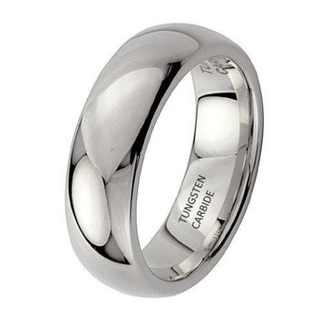 6mm Men's Tungsten Wedding Band