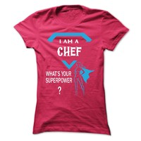 This girl love is CHEF