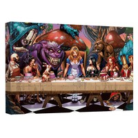 Zenescope - Supper Canvas Wall Art With Back Board
