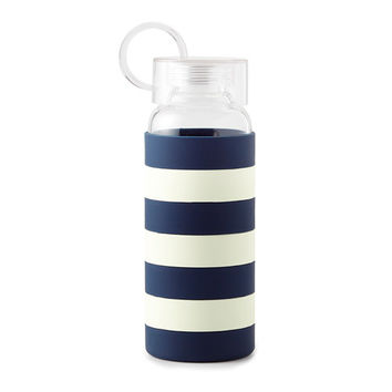 kate spade new york Water Bottles - Navy Stripe