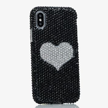 Black and White Heart Design (style 880)