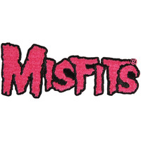 Misfits Men's Pink Logo Embroidered Patch Pink