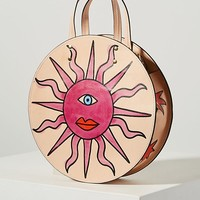 Ann Howell Bullard Regina Shine Circle Bag