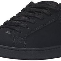 DC Women's Court Graffik SE Skateboarding Shoe, Black/Black/Black, 5 M US