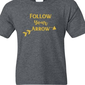 Follow Your Arrow Soft Shirt Short Sleeve