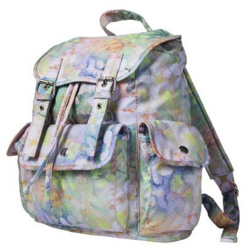 Mossimo Supply Co. Floral Watercolor Backpack - Multicolor