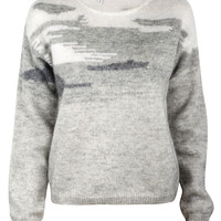 Slim Long Sleeve Crew Sweater