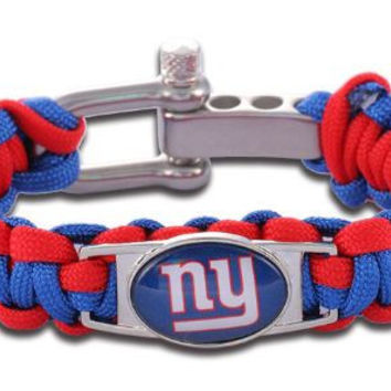 NFL - New York Giants Custom Paracord Bracelet