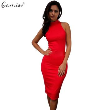 Women's Summer Dresses Elegant Pencil Dress