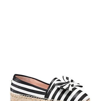 Kate Spade Linds Flats Black/White