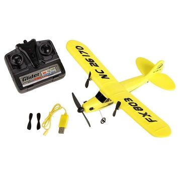FX HL-803 Electric RC Helicopter Plane Glider EPP foam 2CH 2.4G Kid Toy for Outdoor hobby