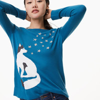 Husky Star Sweater | LOFT