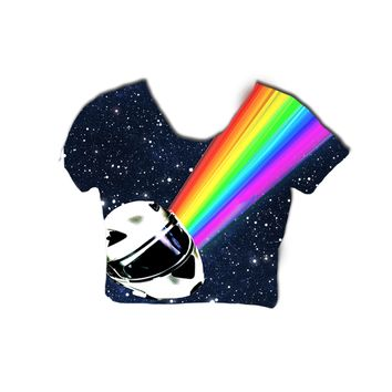 Daft Punk Crop top