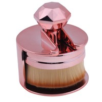 Foundation Brush Unique Design Makeup Brushes Flat Round Makeup Brush Round Make Up For Liquid Cosmetic High Quality