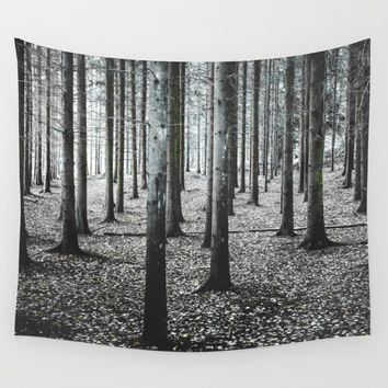 Coma forest Wall Tapestry by happymelvin