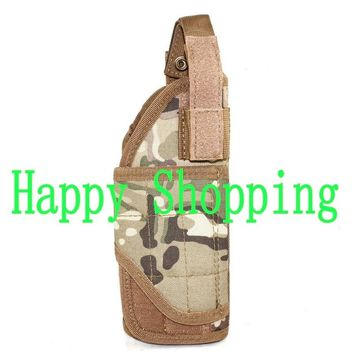 Tactical Mount Vest backpack Pistol Holster Game Adjustable Tornado Molle pouch bag for right hand