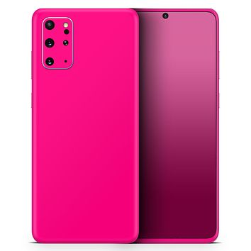 Solid Pink V2 - Skin-Kit for the Samsung Galaxy S-Series S20, S20 Plus, S20 Ultra , S10 & others (All Galaxy Devices Available)