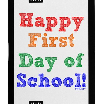 Happy First Day of School Black Jazz Kindle Fire HD Cover by TooLoud