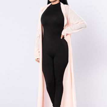 Swingin Jacket - Blush