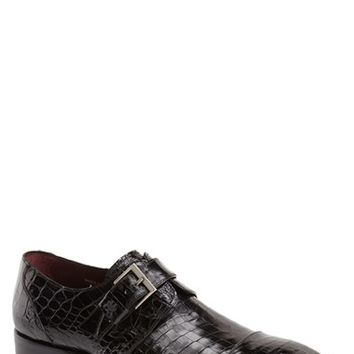 Men's Mezlan 'Berlin' Monk Strap Shoe,