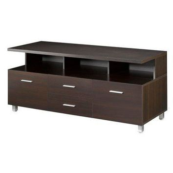 "Nexera Element 56"" TV Stand in Espresso 