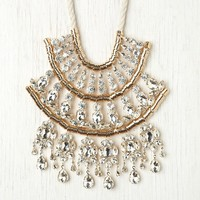 Free People Crystal Tiers Collar