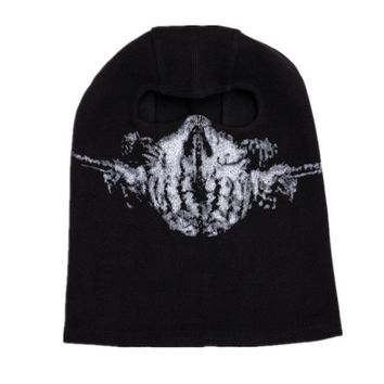 Unisex Full Skull Mask Balaclava Sports Headgear Outdoor Warm Quick-drying Fabric Hat Tactical Ski Masks Skeleton Costume Dec28