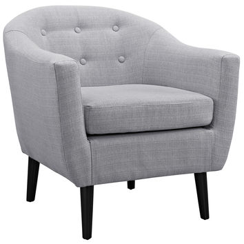 Wit Armchair in Light Gray