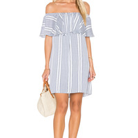 MISA Los Angeles Nikka Mini Dress in Capri Stripe
