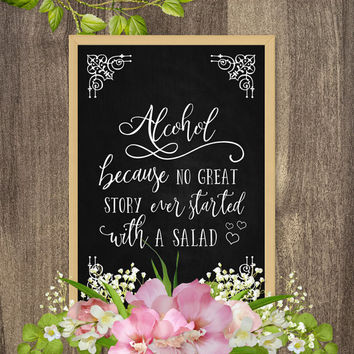 Country wedding decorations, Country chic wedding signs, Country themed wedding decorations, Funny alcohol signs, Wedding bar sign printable