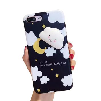 GBSELL Cute Squishy 3D Soft Cute Animal Back Case Cover for iPhone 7 Plus