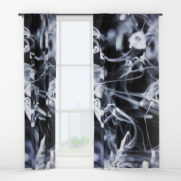 Liquid harmony Window Curtains by happymelvin