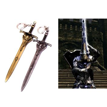 Dark Souls 3 Artorias Sword Weapon Metal Pendant Keyring Chain Keychain Gift