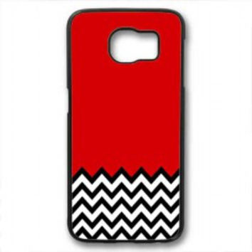 Welcome to twin peaks chevron for samsung galaxy s6 case