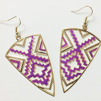 High Point Drop Earrings