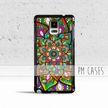 Mehndi Pattern Case Cover for Samsung Galaxy S3 S4 S5 S6 Edge Active Mini or Note 1 2 3 4 5