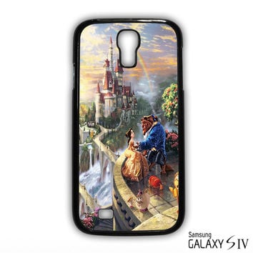 Beauty and the Beast Thomas Kinkade for phone case Samsung Galaxy S3,S4,S5,S6,S6 Edge,S6 Edge Plus phone case