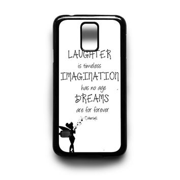 Tinkerbell Quote Samsung S5 S4 S3 Case By xavanza