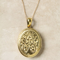 Victorian Engraved Locket