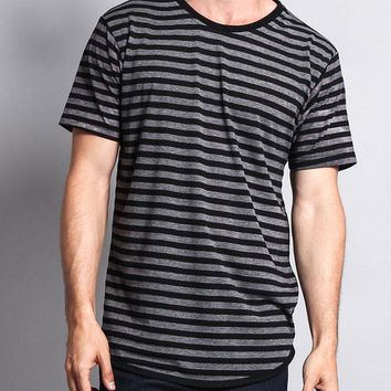 Mineral Wash Stripe T-Shirt TS7050 - H12C