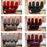 Essie 2012 Fall Stylenomics Collection 6pc Whole Set (Full Size Bottle),free Priority Mail to U.S B