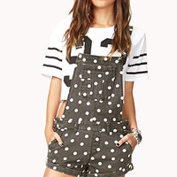 Polka Dot Shortalls